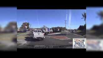 Трагическое происшествие записанное на видеорегистратор (Австралия)