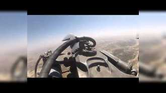 Путешествие на лопасти винта вертолета