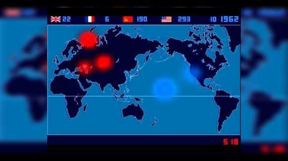 Сколько ядерных взрывов было на земле