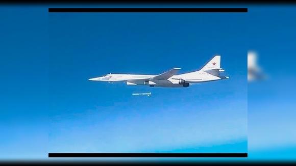 Россия, США и Франция показали работу боевой авиации