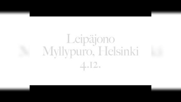 Раздача еды в Финляндии (Хельсинки 4.12.2015)