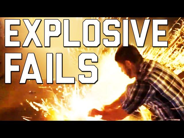 Подборка взрывных фэйлов