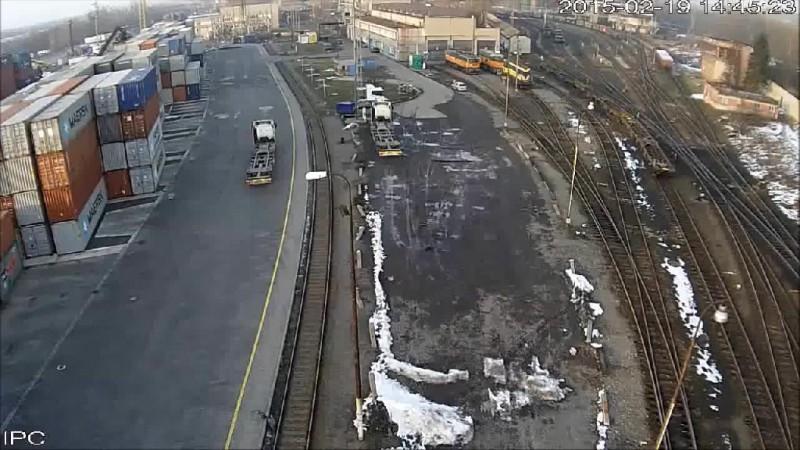 Поезд с углём сошел с рельсов (Чехия)
