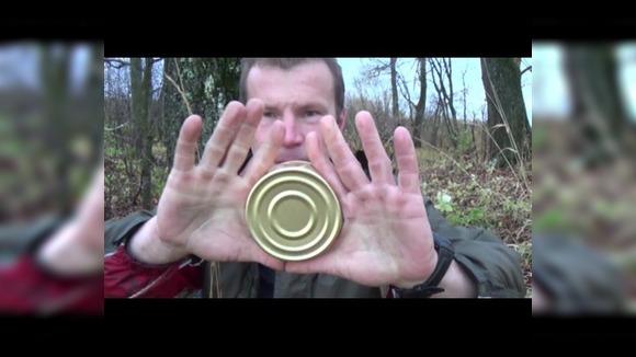 Открывание консервов без ножа