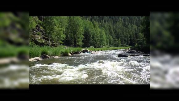 Сплав река Рыбная, Кан, Енисей (Красноярский край)