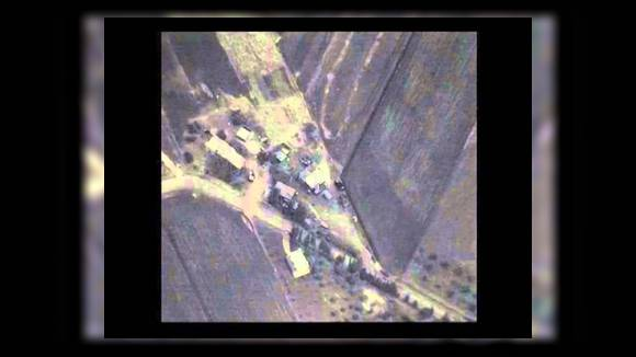 Российская авиация нанесла первый авиаудар в Сирии
