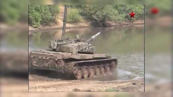 Батальон Т-80 в атаке: запись с учебных стрельб