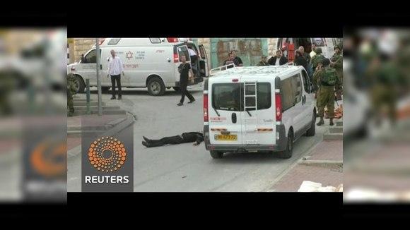 Израильский солдат добил раненного палестинца выстрелом в голову